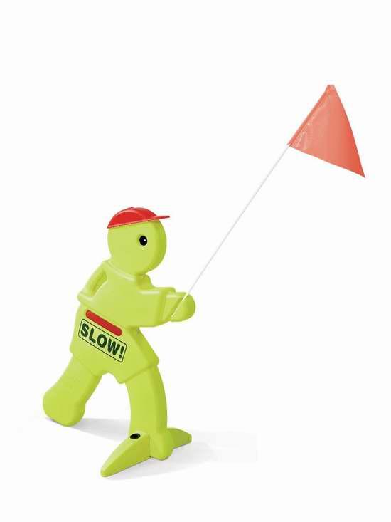 让孩子在门外玩耍时更安全!Step2 KidAlert V.W.S. 32英寸(0.81米)塑料卡通警示标志 历史最低价4.1折 21.94元限时特卖!
