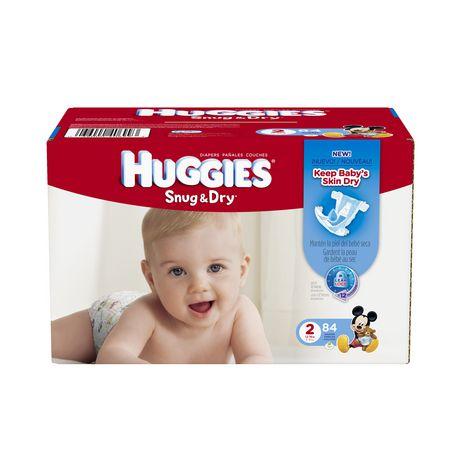 快!Walmart 官网促销,HUGGIES 好奇 Snug & Dry Diapers 超值大包装婴幼儿密合干爽尿不湿12-18元清仓了!