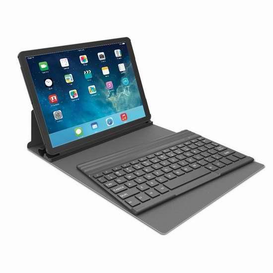 Kensington iPad Air 蓝牙键盘保护套2折19.99元特卖!
