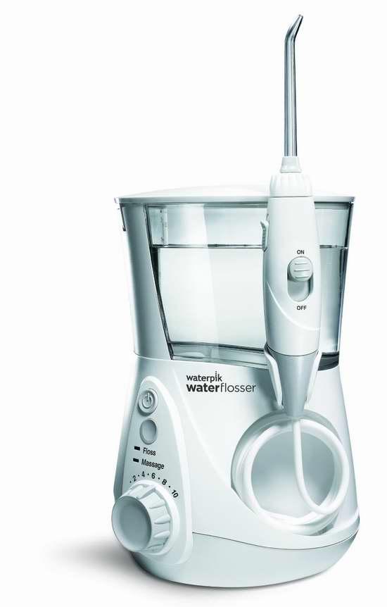 不习惯用牙线也要用冲牙器!Waterpik 洁碧 WP-660  标准型冲牙器/水牙线 71.88元,原价 89.99元,包邮