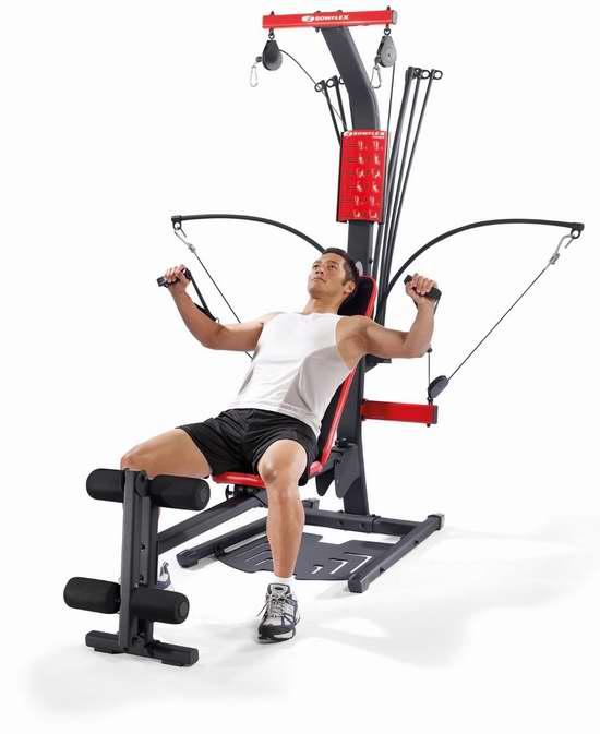 历史新低!Bowflex PR1000 多功能家用健身器4折 358.4元限时特卖并包邮!
