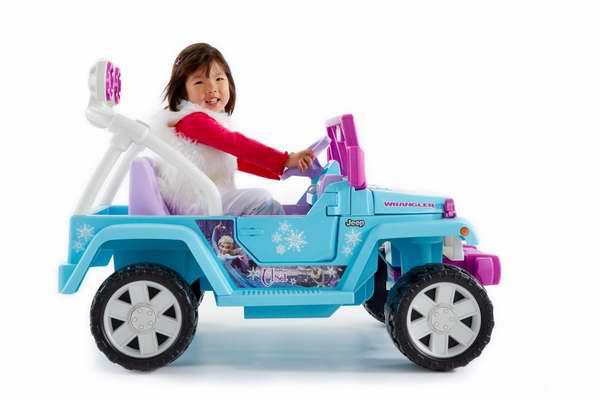 销量冠军!Fisher-Price 费雪 冰雪奇缘 儿童双人座四轮电动车6.2折 248加元包邮!会员专享!