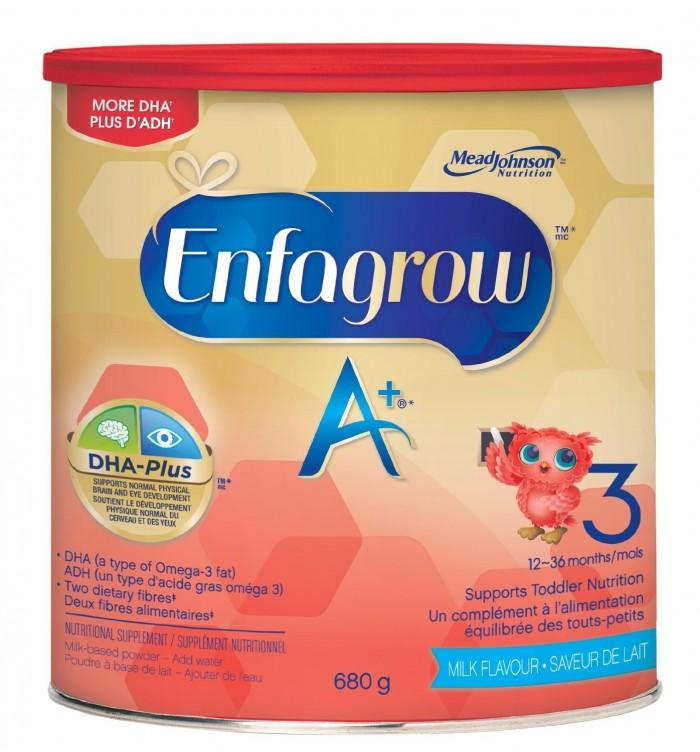 Enfagrow 美赞臣 A+幼儿配方奶粉特价18.98元,原价21.99元