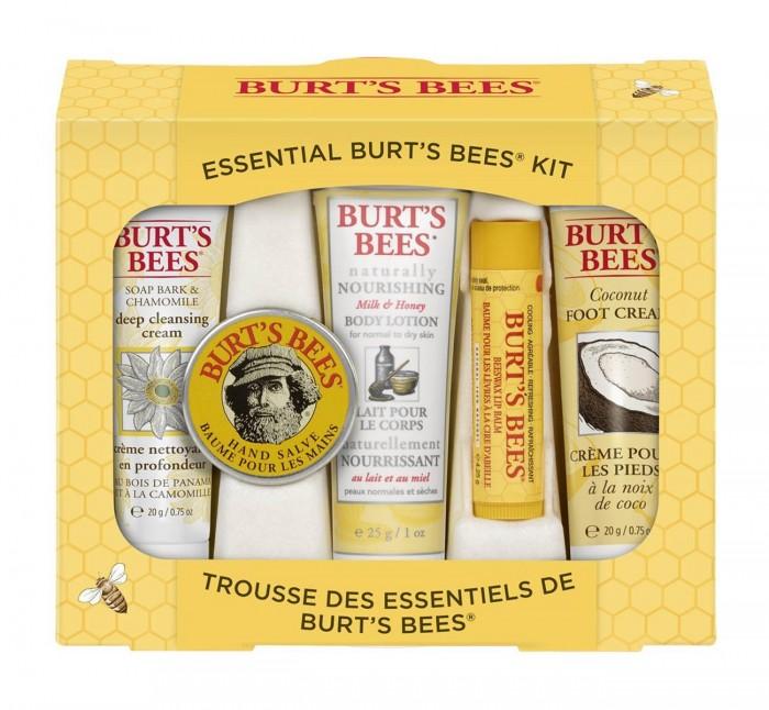 销量冠军!Burt's Bees 小蜜蜂 天然护理5件套 11.99加元!
