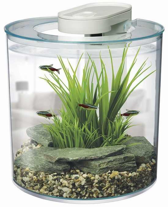 历史新低!Marina 2.65加仑过滤水鱼缸套装 45.87元限时特卖并包邮!