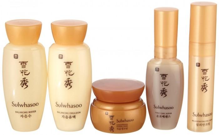 韩国顶级护肤品牌!Sulwhasoo 雪花秀护肤品5件套 29.9加元,原价 39.99加元
