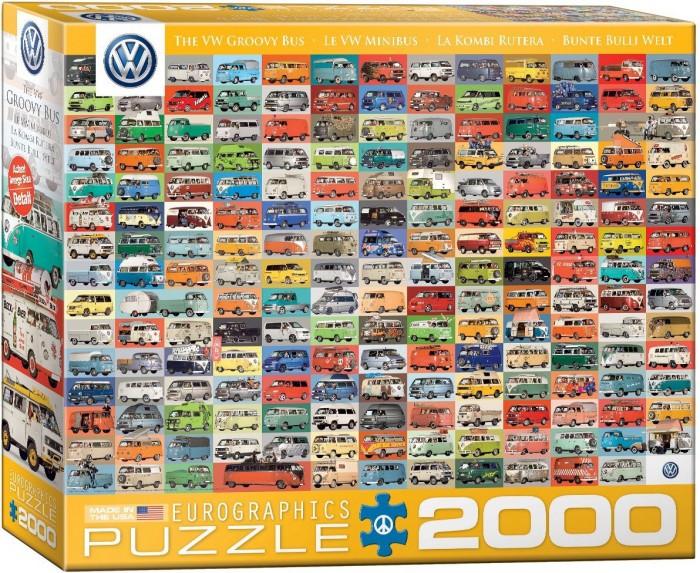 Eurographics 8220-0783 大众汽车2000pcs 时尚巴士拼图特价22.8元,原价30元,包邮