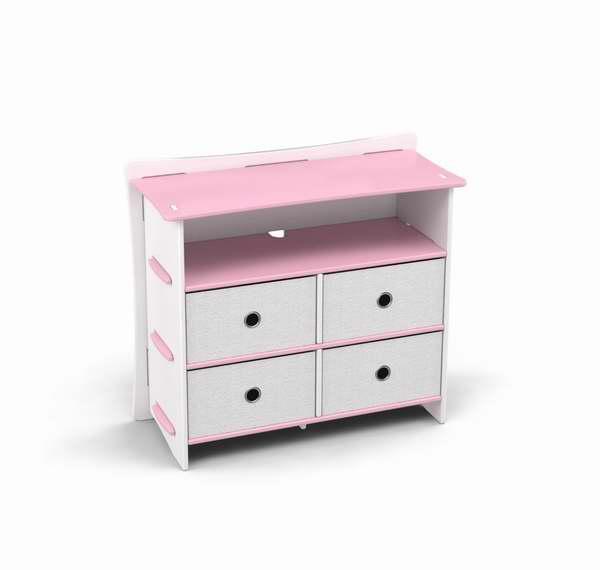Legare Furniture 儿童4抽屉梳妆台3折 110.54元清仓并包邮!