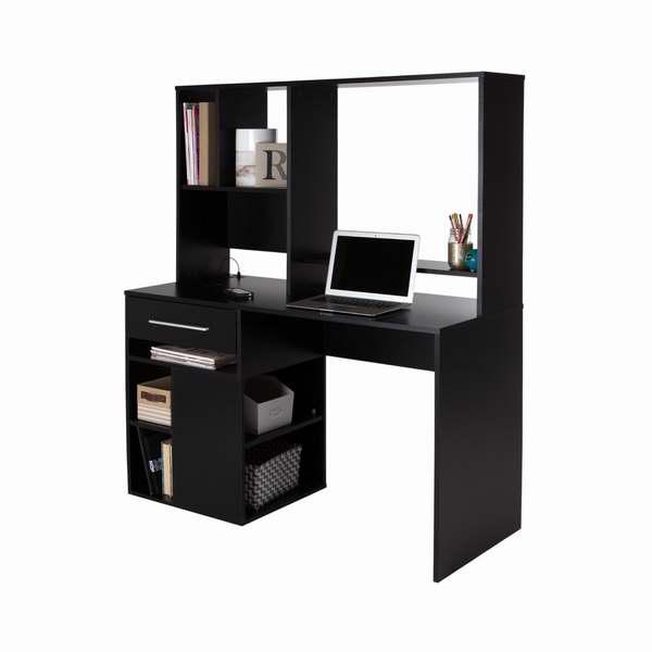 South Shore Furniture Annexe 1.45米电脑桌/书桌5.9折 119.99元限时特卖并包邮!黑白两色可选!