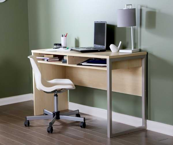 South Shore Furniture 1.2米枫木色电脑桌/书桌5.4折 83.99元限时特卖并包邮!
