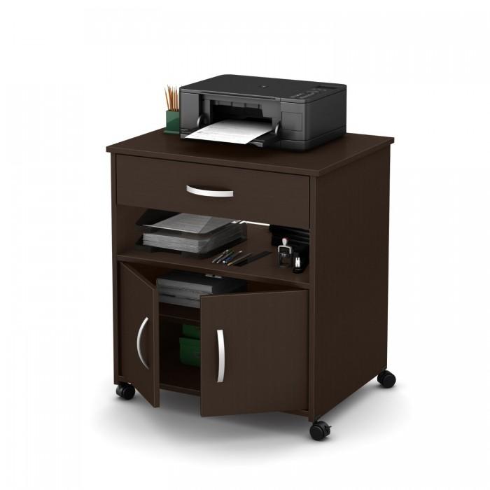 South Shore Furniture Axess Collection 双开门可移动式打印机台/收纳柜5.2折 74.99元限时特卖并包邮!3色可选!