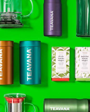 Teavana 精选多款茶叶、茶具、水杯、保温杯等5折起特卖,额外再打6.9折!