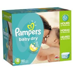 纸尿裤世界第一品牌!Amazon精选多款Pampers帮宝适婴幼儿尿不湿/纸尿裤7.7折限时特卖!