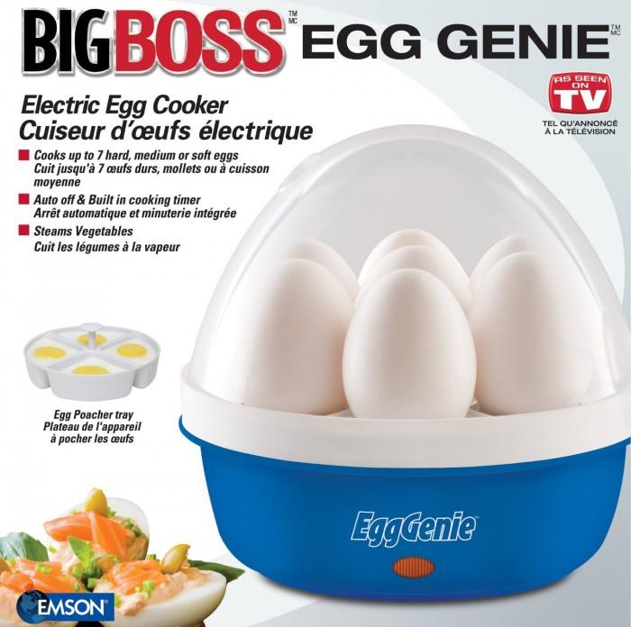 Big Boss 8865 电动煮蛋器(三种颜色可选)19.99元特卖,原价35.59元