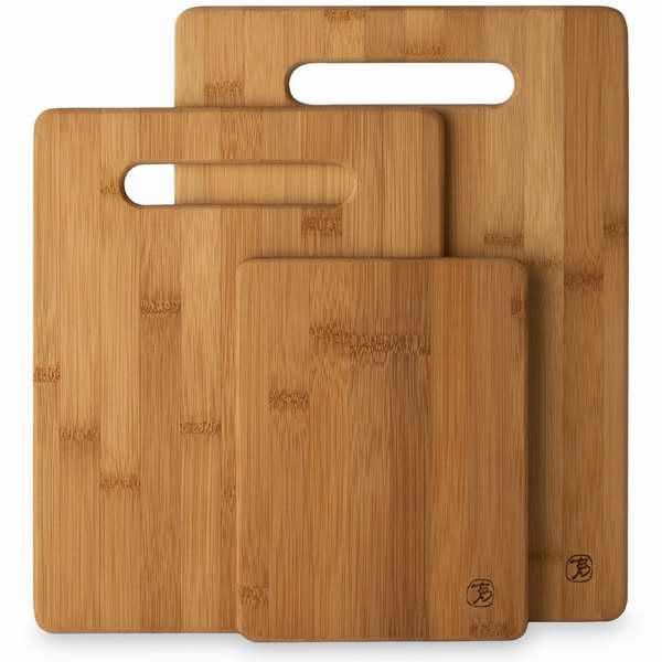 Totally Bamboo 20-7930 竹制菜板三件套8.25元特卖!