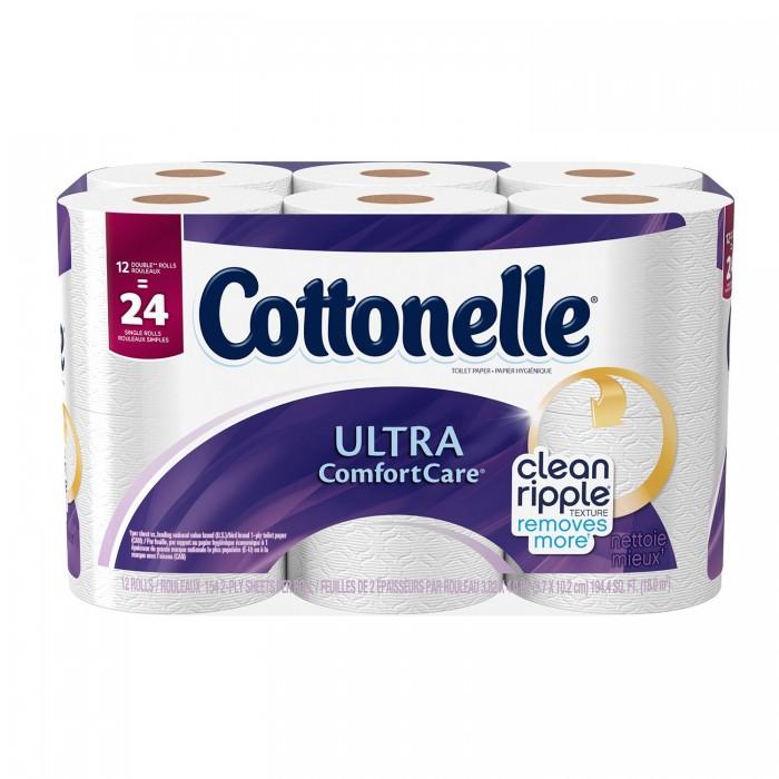 Cottonelle 12卷超软卫生纸 5.68加元起限时特卖!