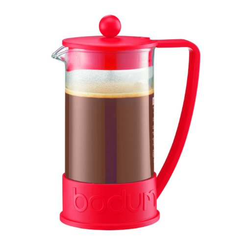 Bodum 波顿 Brazil French  Press 法式压滤咖啡壶 1升(八杯)特价 16.99元,原价24元