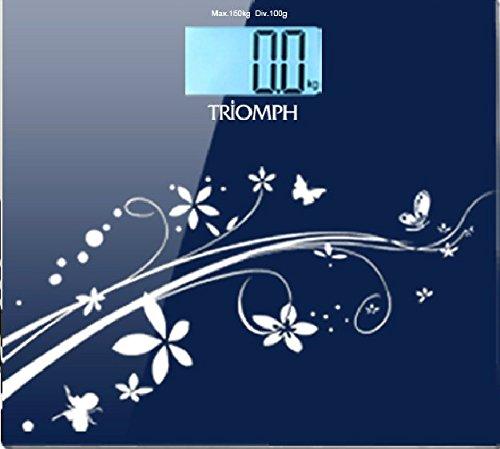 Triomph 超薄高精度浴室秤(四种颜色可选)20.99元特卖,原价49.99元,包邮