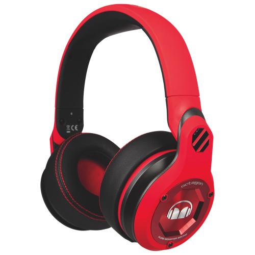 Monster UFC Octagon 红色魔声格斗士头戴式耳机 74.99元特卖,原价 179.99元