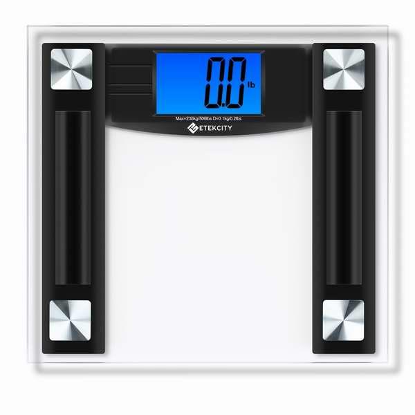 Etekcity 高精度数字数字电子体重秤3.2折25.95元限时特卖并包邮!