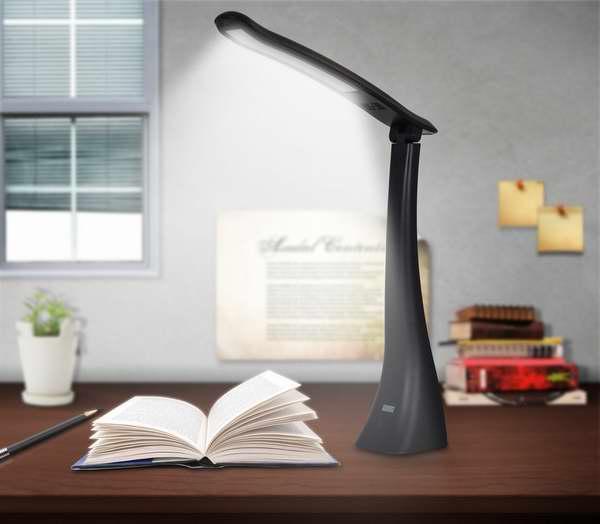 August LEC210 USB充电LED可调光护眼台灯7.5折 18.82元限量特卖!