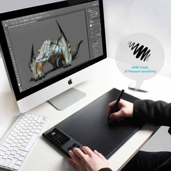 Huion 绘王 WH1409 专业级无线数位板/手写板/电子绘图板8.5折 186.15元限量特卖并包邮!