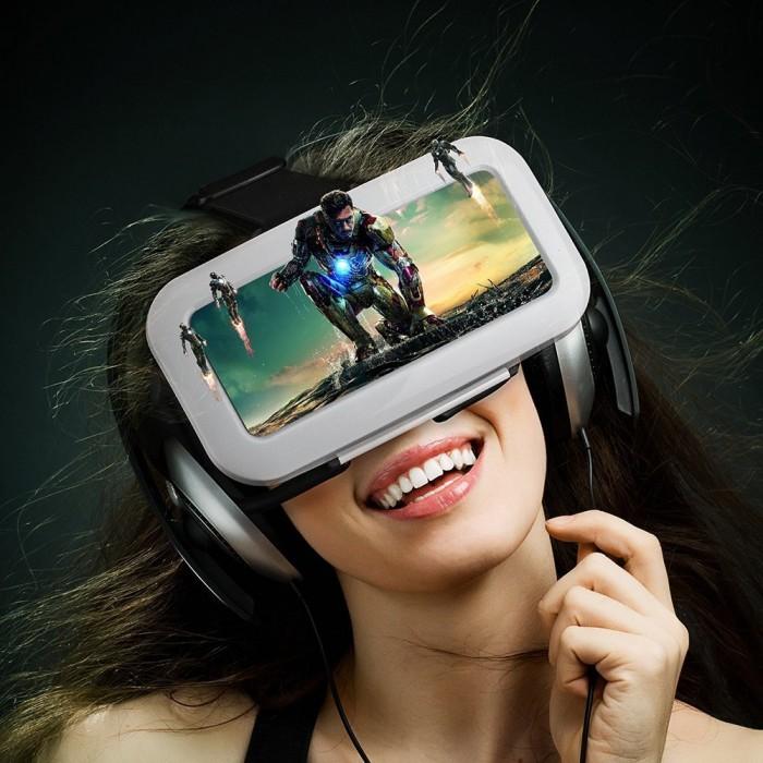 历史最低价!手机秒变3D影院,Habor 3D VR虚拟现实眼镜 11.99元限量特卖,原价 39.99元,包邮
