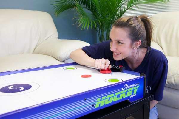 金盒头条:Sport Squad HX40 1.01米台式电动空气冰球游戏桌5折 51.98加元包邮!