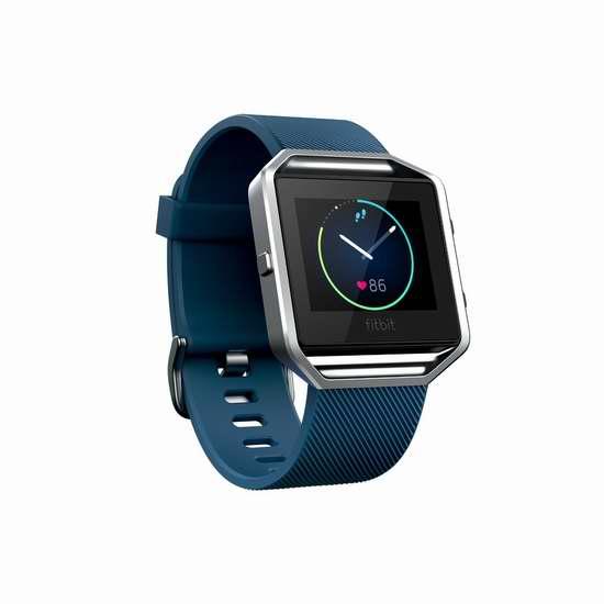 新款首次降价!Fitbit Blaze 智能健身手表(小号)8折 199.33元限时特卖并包邮!