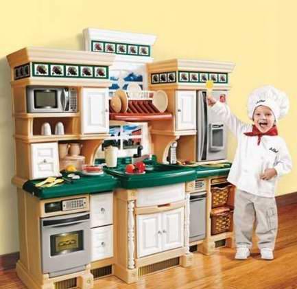 Step 2 LifeStyle Deluxe 儿童豪华仿真厨房玩具套装5.6折 185.45元限时特卖!