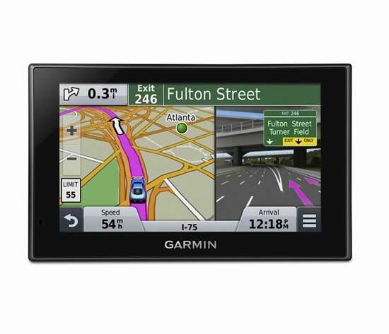 Garmin 佳明 Nuvi 2589LMT 5英寸蓝牙车载GPS导航仪 179.99加元限时特卖并包邮!