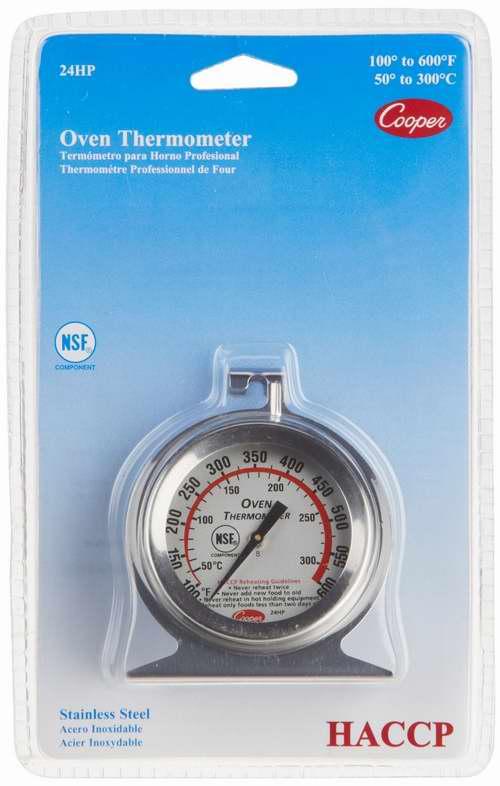 历史最低价!Cooper-Atkins 24HP-01-1 不锈钢烤箱温度计4.2折 5.15元限时特卖!