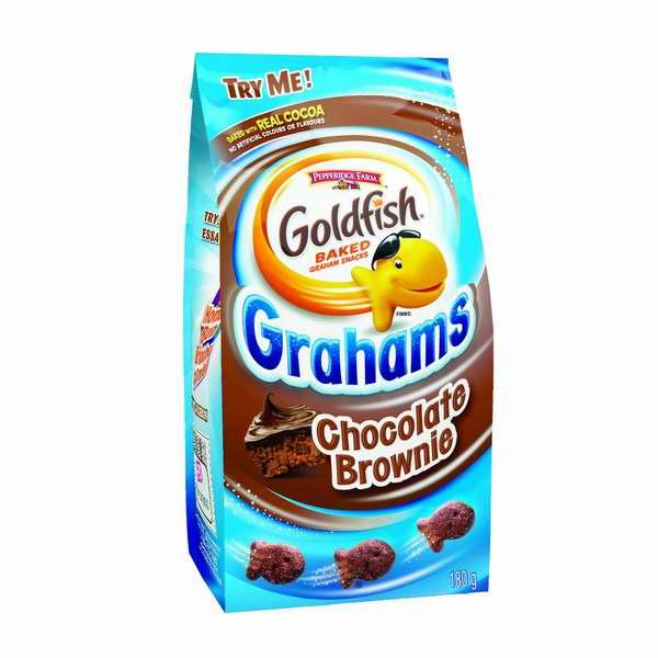 历史最低价!最佳早餐选择!Pepperidge Farm Goldfish 小金鱼巧克力香脆饼干(180克x12包)5.3折 19.08元限时特卖!