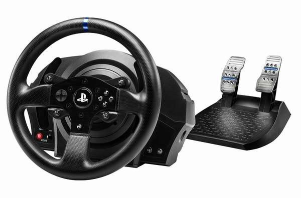 历史最低价!至尊赛车享受!Thrustmaster T300 RS 土豪级游戏方向盘/赛车模拟器(兼容PS4/PS3/电脑)6折 299.99元限时特卖并包邮!