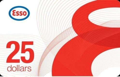 加油卡限时促销!Ebay.ca网店促销, 买 3张 Esso加油卡75元立减20元!