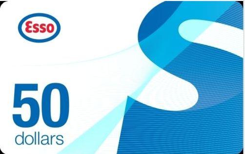 加油卡限时促销!Ebay.ca网店促销, 买 2张Esso加油卡100元立减20元!今日西部时间下午5点/东部8点结束!