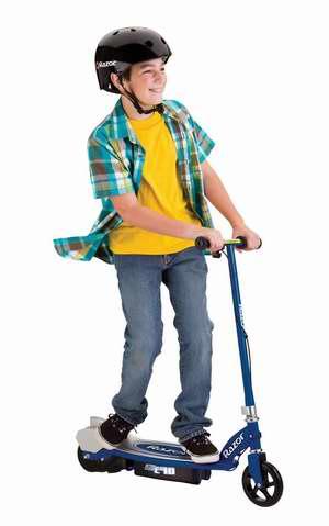 历史最低价!Razor 13111261 E90 儿童电动滑板车3.5折 86.12元限时清仓并包邮!