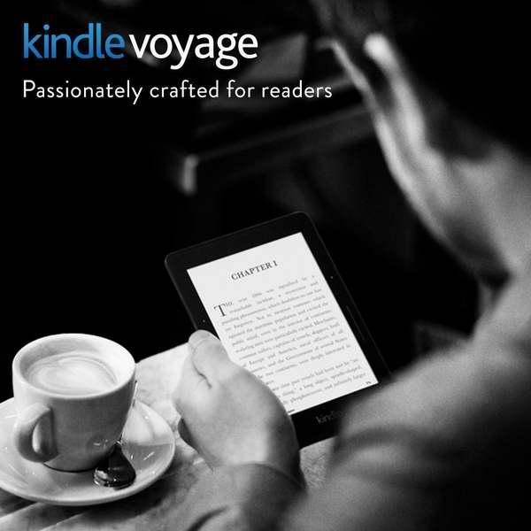 还原纸书阅读体验!Kindle Voyage 6英寸电子书阅读器 259.99加元包邮!