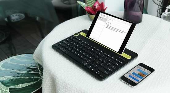 历史新低!Logitech 罗技 K480 多功能蓝牙键盘5.7折 39.83元限时特卖并包邮!