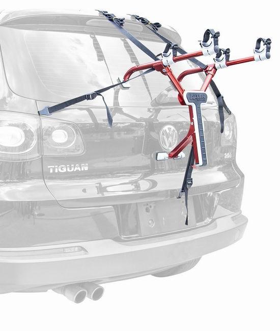 历史新低!Allen Sports 超轻超便携折叠式后备箱自行车车架(可装2辆)4.5折 60.34加元包邮!