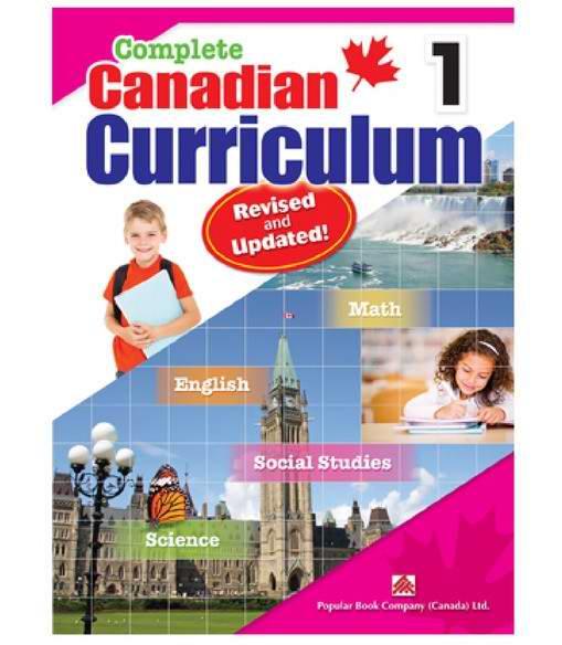Amazon精选多款 Complete Canadian Curriculum 1-8年级课外练习册修订版4.5折 9.27元起限时特卖!
