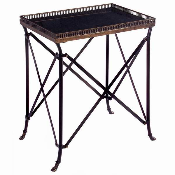 IMAX 12003 复古金属装饰边桌2.5折 48.85元限时特卖并包邮!