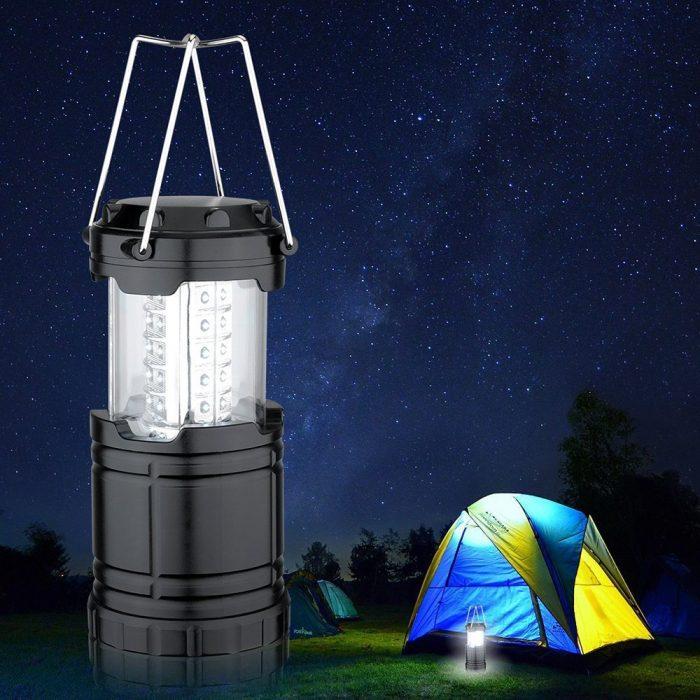 Habor 便携式可折叠超亮LED露营灯/应急灯 13.59元限量特卖,原价 15.99元
