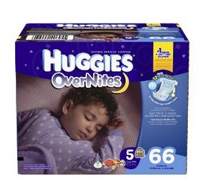 Huggies 好奇 4号夜用纸尿裤 66片装 22.97元特卖,原价 29.97元