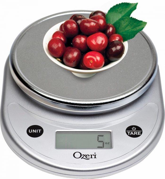 Ozeri 多功能数字厨房秤 7.23元限量特卖,原价 44.79元