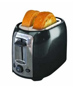 BLACK+DECKER TR1278BD 2片烤面包机 18.88元特卖,原价 22.88元