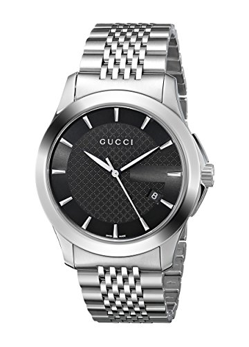 Gucci 古驰 YA126402 男士 G Timeless 系列精钢腕表5.8折 564.43元限时特卖并包邮!
