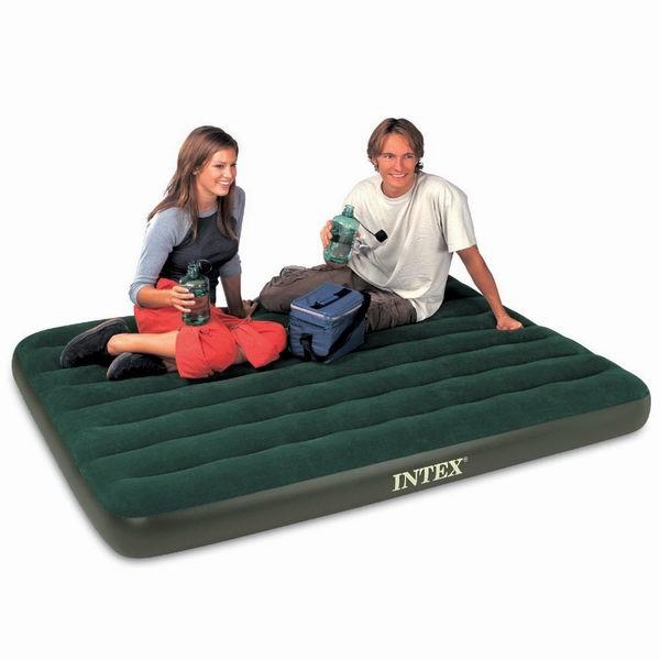 历史最低价!HOME BASICS Intex Prestige Downy 室内/户外Full充气床垫+无绳充气泵套装4.5折 21.39元限时清仓!