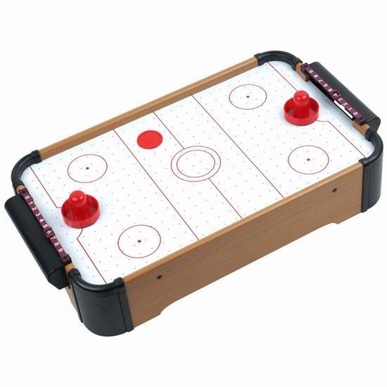 Trademark Games 台式迷你电动空气冰球游戏桌4.5折 28.89加元限时特卖!