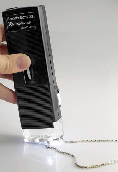 历史最低价!SE MW10084 30倍放大迷你显微镜/手电筒3.5折 5.31元限时特卖!